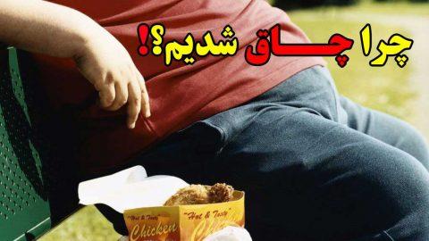 چاقی لاغری